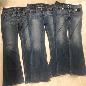 American Eagle Artist Jeans-3 Pairs